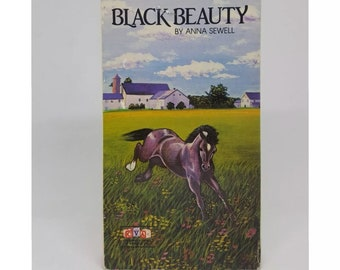 Black Beauty VHS Very Rare BY Anna Sewell 50 Minutes