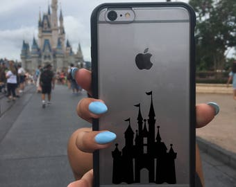 Cinderella Castle Decal, Disney Castle Sticker, Disney Castle Decal, Phone Cover, Disney Stickers, Disney Vinyl Decals, Castle, Cinderella