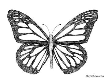 Butterfly - Art Print