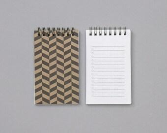 Herringbone List Book - Small