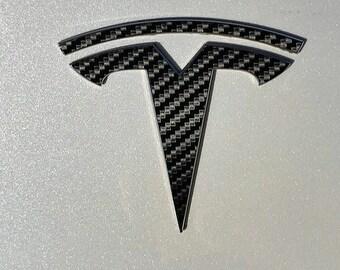 """Tesla Model 3 Front Tesla """"T"""" Logo Accent"""