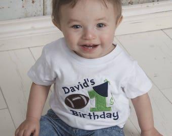 Boys first birthday shirt