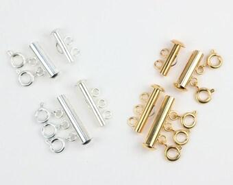 Collier en couches démêlant, Multi brin collier fermoir en démêlant, entretoise de superposition de collier, démêler couches colliers