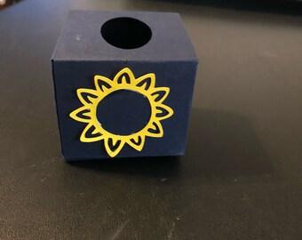 Custom sunflower tissue boxes