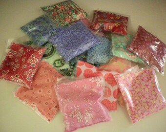 Scented Sachets, assorted scents and prints - you choose