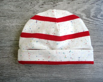 Baby Hat with stripes