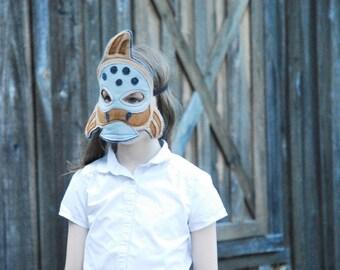 Salish Sucker Fish Costume - Mask, Tail, Mask & Tail Combo Pack