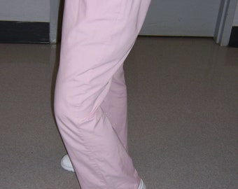 Solid Scrub Pants
