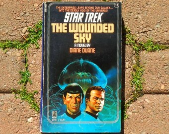 Vintage Star Trek The Wounded Sky Paperback Book by Diane Duane Dec 1983 Printing