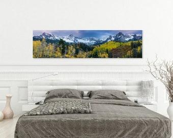 Mears Peak, Sneffels Range, Fall Autumn, San Juan Mountains, Rocky Mountains, Dallas Divide, Colorado Photography, Mountain Photography