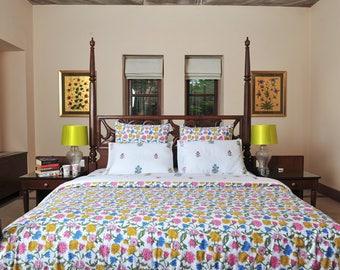 Organic Bedding set Gardenia + Freesia