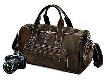 Dslr Camera Bag, Leather Camera Bag, Padded Camera Bag, Dslr Bag, Camera Bag, Camera Bag For Women, Women Camera Bag, Camera Bag Men