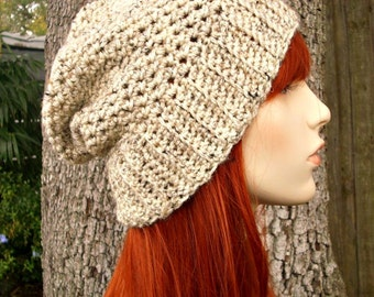 Instant Download Crochet Pattern - Slouchy Hat Pattern - Crochet Hat Pattern Yorkshire Slouchy Beanie Womens Hat - Womens Accessories