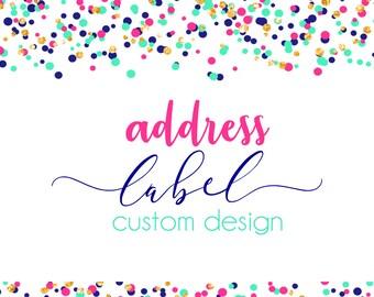 Custom Address Label Design