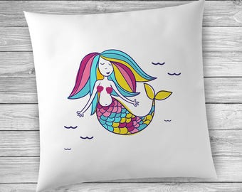 Mermaid Decor for Girls Room, Girls Room Decor, Mermaid Decor