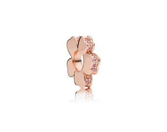 Authentic Pandora Rose Gold Wildflower Meadow SPACER