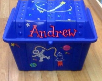 Personalized Toy Chest, Kid's Custom Toy Chest