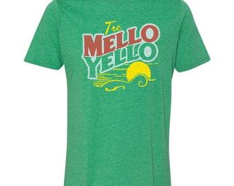 Mandolin T-Shirt - Tre-Mello Yellow