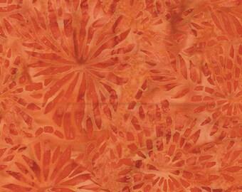 Bali Color Pop - 7093-29 - Dahlia Persimmon for Benartex - Triple-Dyed
