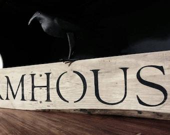 Farmhouse rustic pallet sign