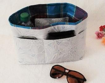 Bag Insert, Large Bag Organizer, Handbag Liner Pockets, Organizer Insert, Diaper Bag Organizer