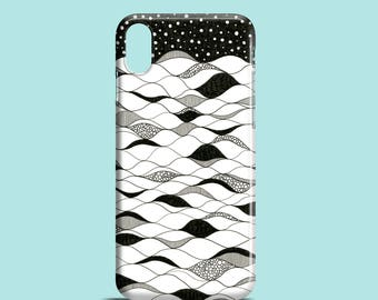 Deep waters mobile phone case / iPhone X, iPhone 8, 8 Plus, iPhone 7, iPhone 7 Plus, iPhone SE, iPhone 6S, iPhone 6, iPhone 5S, iPhone 5