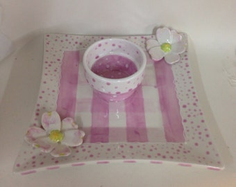 Ceramic Plate and bowl set