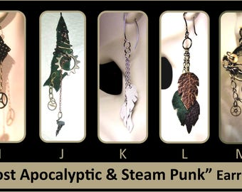 LARPing Jewelry,larping,cosplay,roleplay,post apocalyptic jewelry,larp,leather cuff,Post Apocalyptic cuff,cyber cuff,steampunk cuff