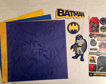 Batman Scrapbooking Kit