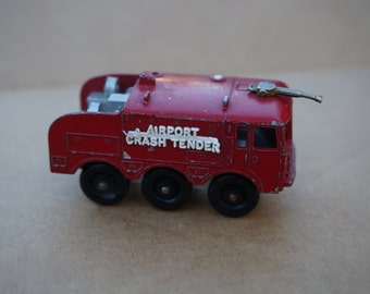Vintage Lesney Matchbox Foamite Airport Crash Tender Series No 63