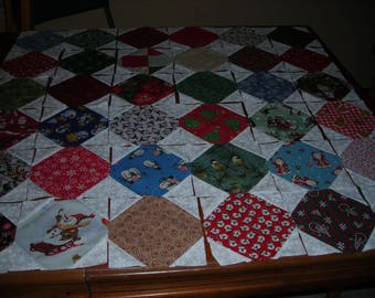 36 - Snowball uilt Blocks - Christmas