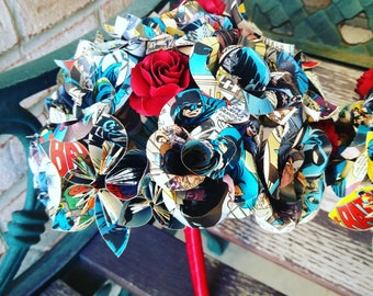 Custom Flower Girl Bouquets. Your Choice Of Comics & Colors..