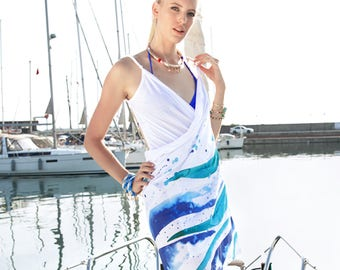 BiggDesignAnemoSS Wave Beach Dress