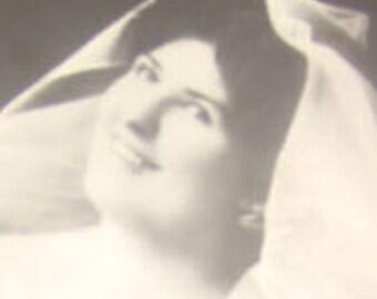 Nice Vintage RPPC (Pretty Lady)