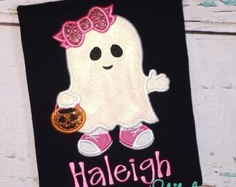 Girl Ghost Shirt or Bodysuit