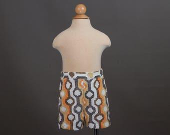 vintage 1960s baby boy shorts