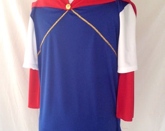 Prince Philipe inspired running top with cape