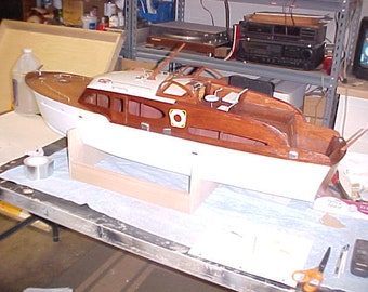 1950 Chris Craft Catalina Boat Model 47 Inches