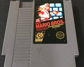 Nintendo NES Super Mario Bros. Free Shipping!
