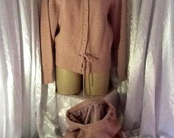 Classic Vintage knit suit size 12