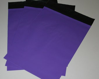 50 9x12 Poly Mailers Purple Self Sealing Envelopes Shipping Bags Spring Easter