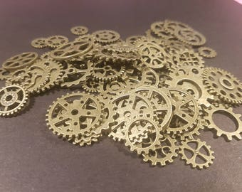 Bronze Cogs and  Gears