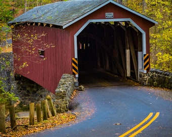 Red Covered Bridge