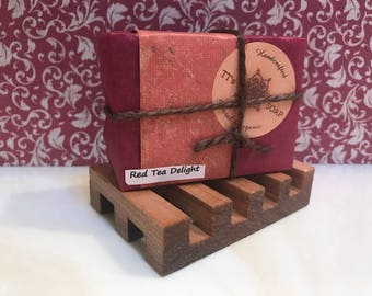 Red Tea Delight Soap Bar Vegan