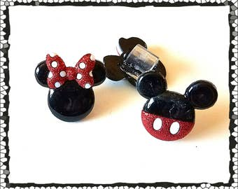 Tube Trinkets:  Boy and Girl Mouse Ears!  Please select quantity 2 for a pair!