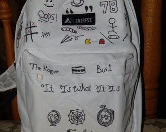 Louis Tomlinson Tattoo Backpack