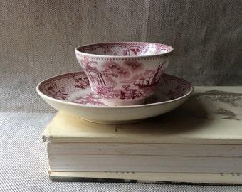 Antique English Japonica Tea Bowl - Tea Cup