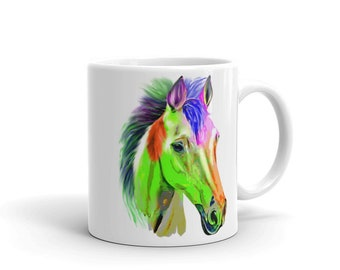 Horse Lover Gift Coffee Mug, Gift for Mom, Sister, Aunt
