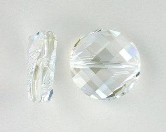 Crystal Moonlight 5621 - Swarovski Crystal - Faceted Twist (18mm)