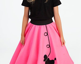 Girls - 50's Poodle Skirt